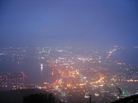 ギリギリ夜景