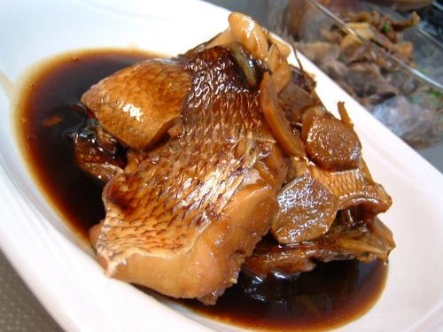 真鯛の甘辛煮