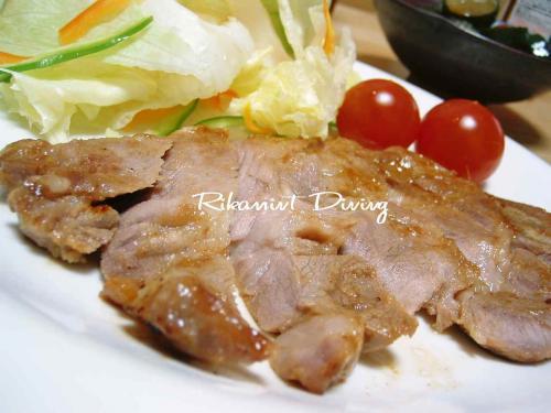 DSCF5・12豚の味噌焼き1