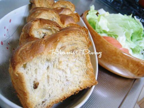 DSCF5・23パン&サラダ