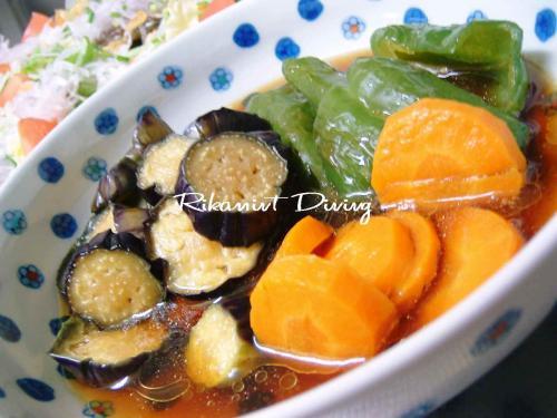 DSCF6・17野菜の揚げびたし