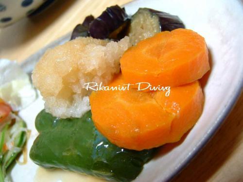 DSCF6・17野菜の揚げびたしアップ
