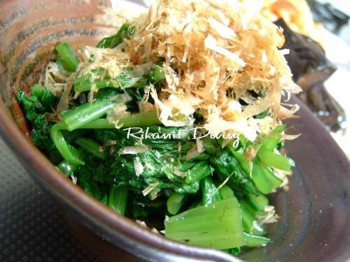 DSCF7・2小松菜のおひたし