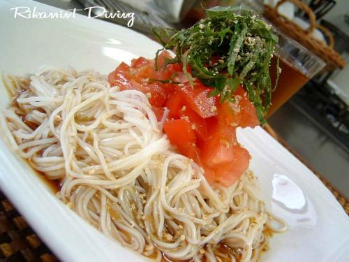 DSCF7・22トマト素麺