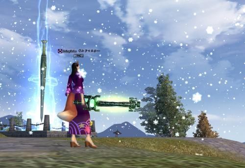 07.剣仙に雪が