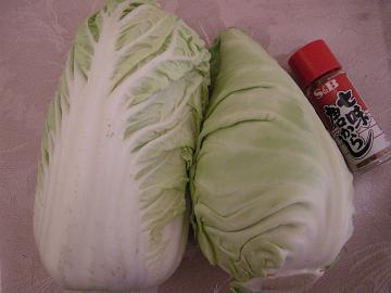 キャベツ白菜