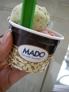 MADO のアイス