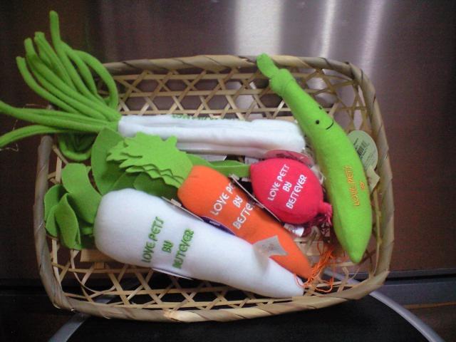 はじめまして。野菜です