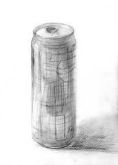 ペプシ缶デッサン