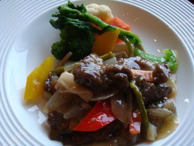 牛肉と春野菜@八芳園