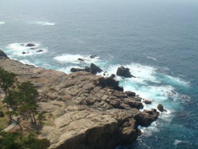 日本海をのぞむ@日御碕灯台