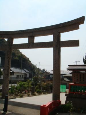 正面鳥居@日御碕神社