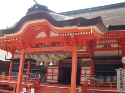 アマテラスオオミカミを祀る日しずみ宮@日御碕神社