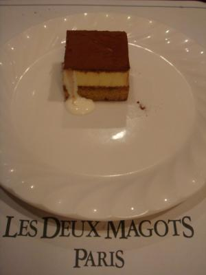 プチデザート@LES DEUX MAGOTS