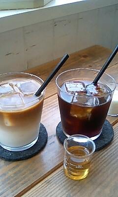 アイスコーヒーとカフェオレ@Annon Cook