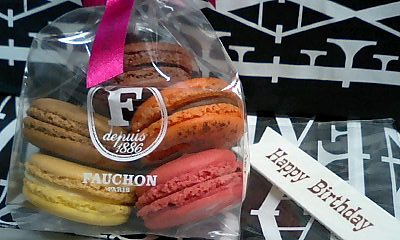お誕生日仕様@FAUCHON