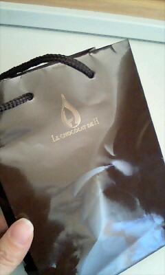 マカロンの袋@LE CHOCOLAT DE H
