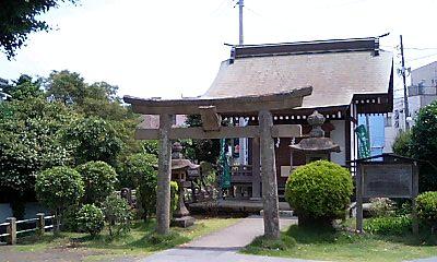 隣の神社2@桜家