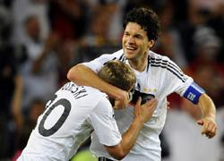 ユーロ準々決勝ドイツ1