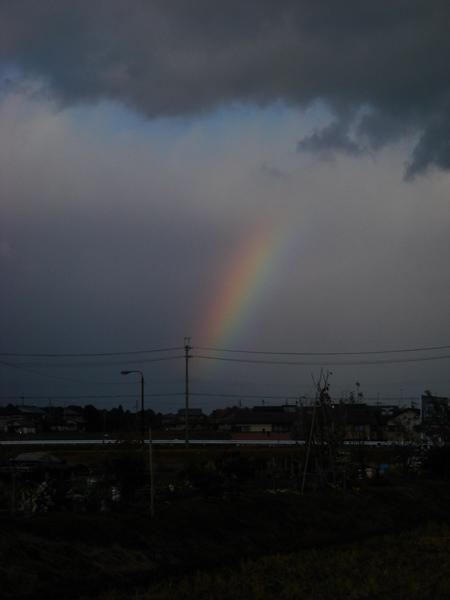 2007.12.3. 堅田の虹