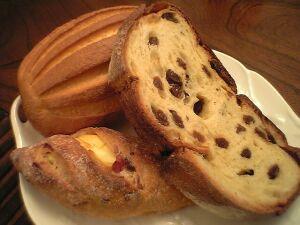 080410浅野屋・軽井沢レザン、クランベリーチーズパン、パンオレ