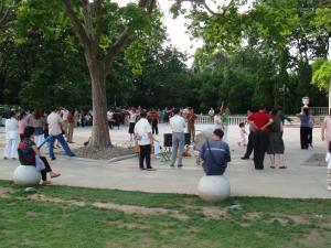 中山公園ダンス