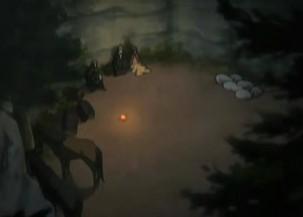 狼と香辛料12話 野営する一同