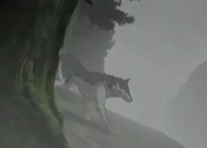 狼と香辛料12話 狼登場