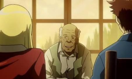 アリソンとリリア1話 老人 なにを都合のいいように伝えるかだね