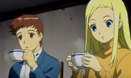 アリソンとリリア1話 アリソンヴィルお茶