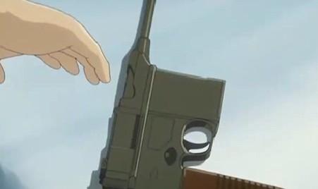 アリソンとリリア2話 ヴィル銃を渡される
