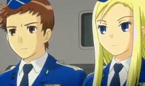 アリソンとリリア2話 アリソンヴィル敵の基地へ向かう
