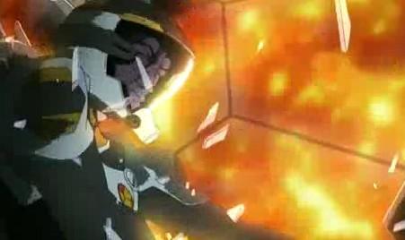 マクロスF3話 オズマ攻撃受ける2