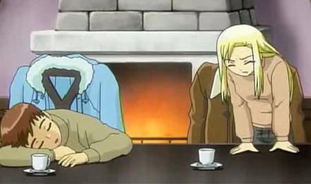 アリソンとリリア5話 アリソン まさかこのお茶