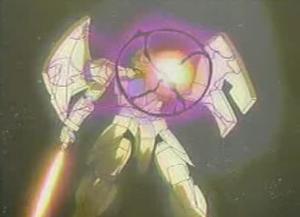 ガンダム0025話 ビーム発射寸前