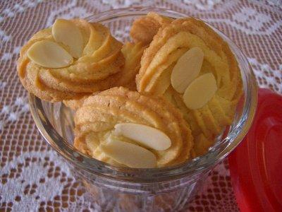 アーモンドクッキー♪