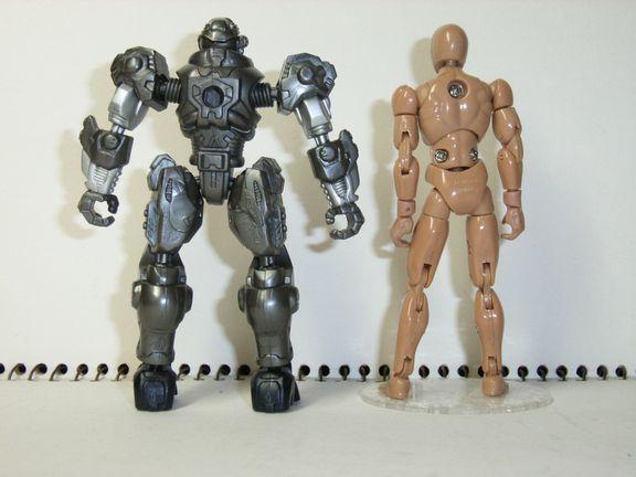 改造ヒーローズ・ボーグレンジャー「マイク」5