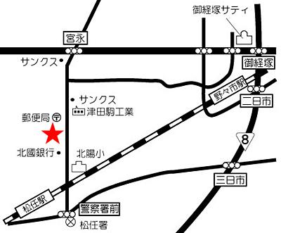 福喜寿司 地図