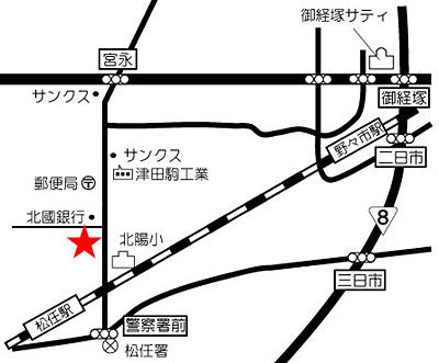 いっしん 地図