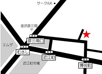 エバンス 地図