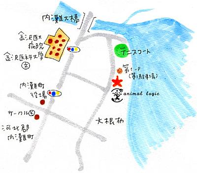 アニマルロジック 地図
