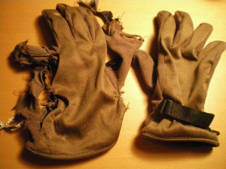 素敵な手袋セット。