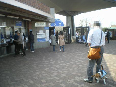 昭和記念公園入り口。