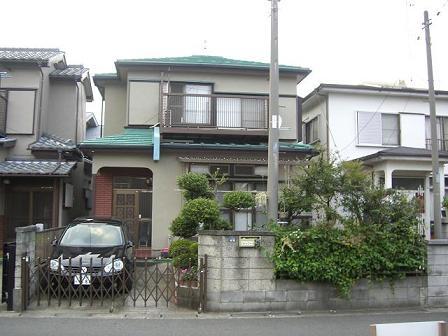 島田邸外構施工前