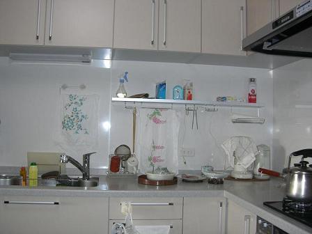 高田邸キッチン完成2
