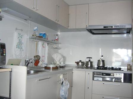 高田邸キッチン完成3