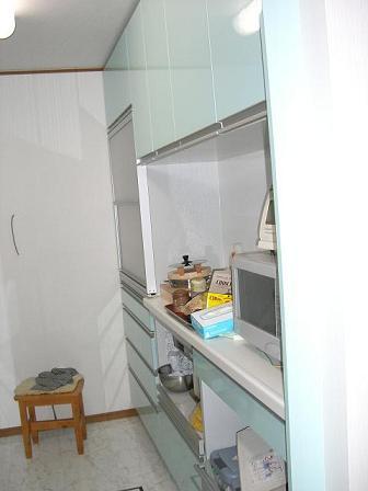 池田邸キッチン完成2