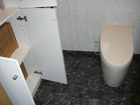 池上邸トイレ完成2