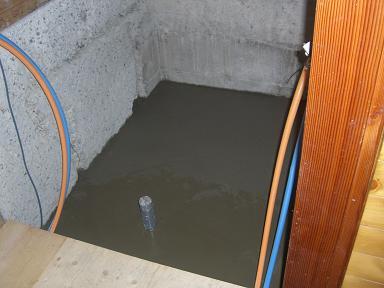 浴室土間工事
