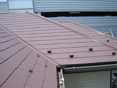 土門邸屋根塗装仕上げ2